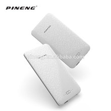 New Arrival slim polymer lithium battery rohs power bank 8000mah