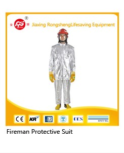 aluminum-foil Fireman Suit Fire Preventing suits