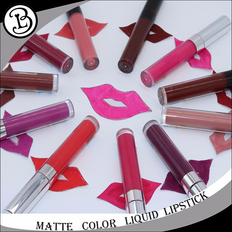 2017 TOP Selling Waterproof 12 colors lip gloss private label