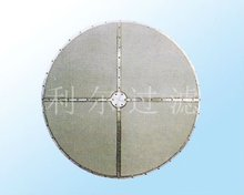 Sintered stainless filter disc