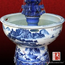 chinese fancy ceramic fountain humidifier
