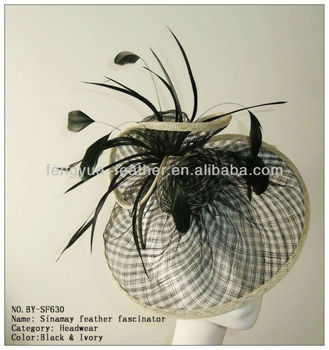 BY-SF603 Sinamay Fascinator Hat