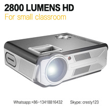 2800 Lumens Full HD 1080P SD200 smallest Multimedia Home Theater Projector Proyector Small Cheaper than LED86+