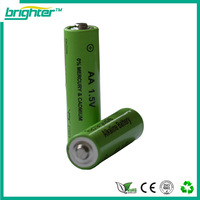 BRIGHTER 1.5v aa rechargeable alkaline battery