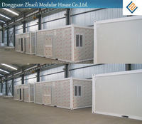 luxury home goods/mobile prefab houses-Reduced environmental impact through less waste