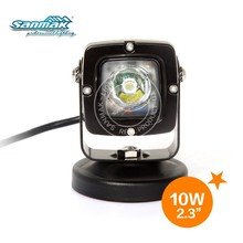 "Energy saving black mini size 6000K 2.3"" 10W cree led motorcycle headlight"