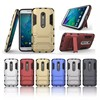 Hybrid Dual Layer Armor Defender Full Body Protective pc case for MOTO X Style
