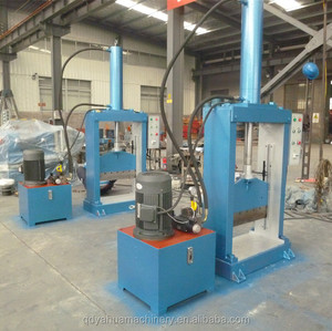Thailand Vertical Hydraulic Guillotine Rubber Bale Cutter With High Quality