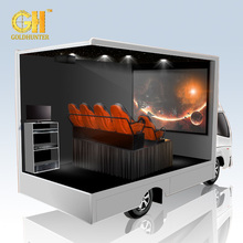 Gold Hunter Exciting Roller Coaster Hydraulic 5D Motion Cinema Simulator System 5D Cinema Simulator