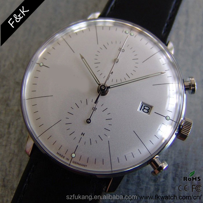 Newest arrival wholesale price low MOQ chronograph watch brand 2016