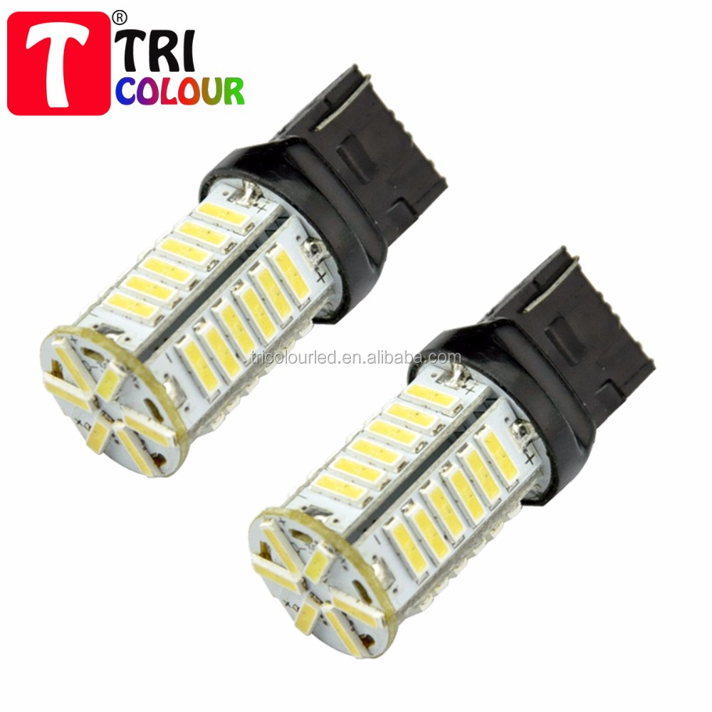 T20 W21W WY21W 7440 7443 36 smd 7014 led auto car brake rear stop lights DC12V
