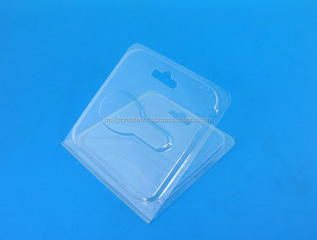 Plastic Clamshell with Key Hole Hanger for Retail Packaging