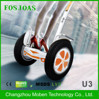 intelligent mobility foldable self balancing scooter Fosjoas U3 personal transport with SONY lithium battery 1000w