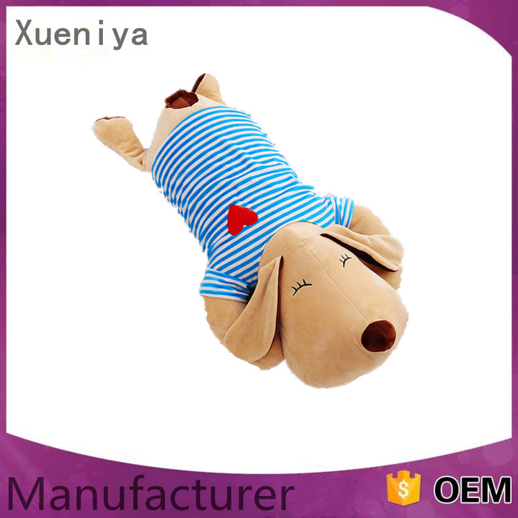 Wholesale China Supplier Baby Animal Pillow Stuffed Plush Toys Dog Doll