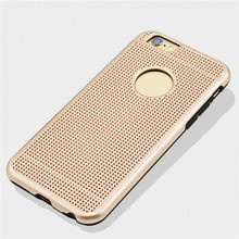 2 in 1 Multi-Function Hybrid Combo Mesh Stent Net Stand Case Back Cover For Apple iphone 6 plus 6S plus