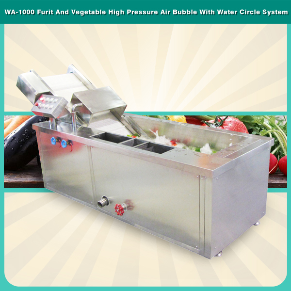 WA-1000 Lettuce Cabbage Spinach Vegetable Washing Machine