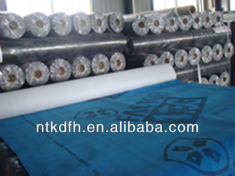 Breathable membrane for petroleum asphalt roofing felt