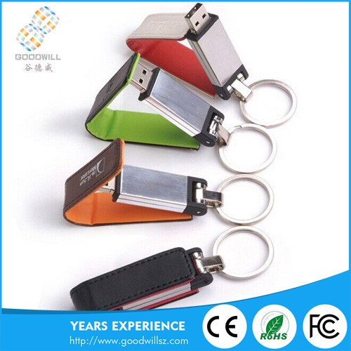 competitive price high speed usb flash leather,custom leather usb,leather cover usb