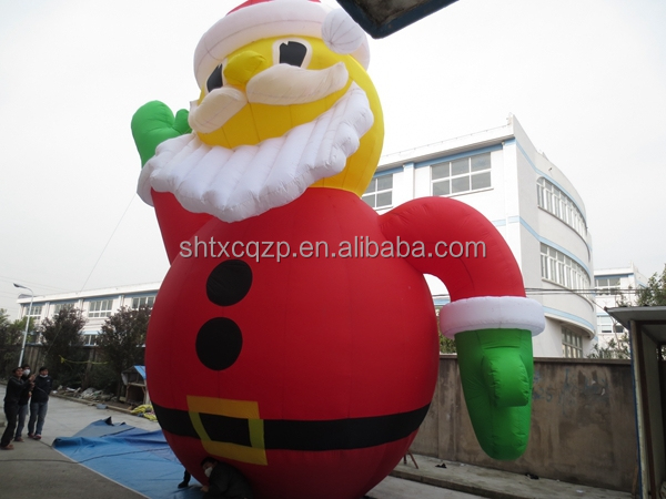 inflatable Christmas, inflatable santa claus