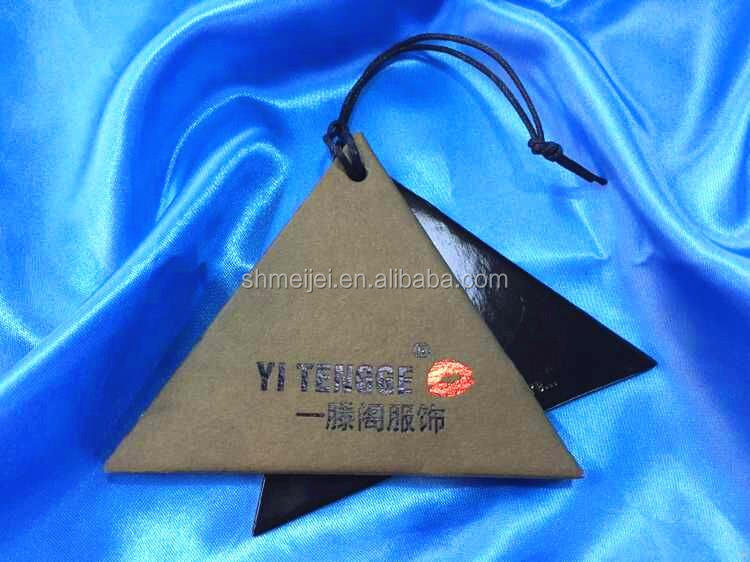 Factory special discount paper and cloth hang tag