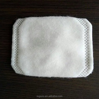 Side sealed facial cotton puffs cotton pads