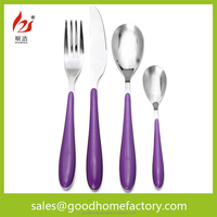 flatware with plastic handle dishwasher safe, plastic handle flatware, plastic handle cutlery