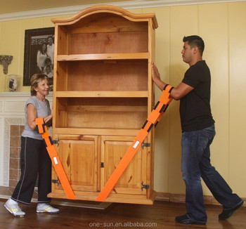 2-Person Lifting Aid Moving Furniture Heavy Objects Lifting Moving Straps