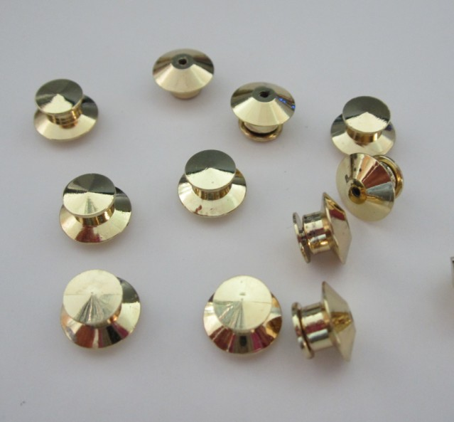Factory supply Metal Brass stud and clutch pin for garment