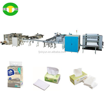 High quality kleenex tissue paper machine production line