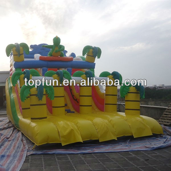 newest custom inflatable dinosaur slide for kids and Adults
