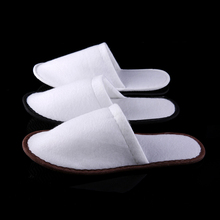 High quality washable indoor slipper disposable hotel slipper with oem logo