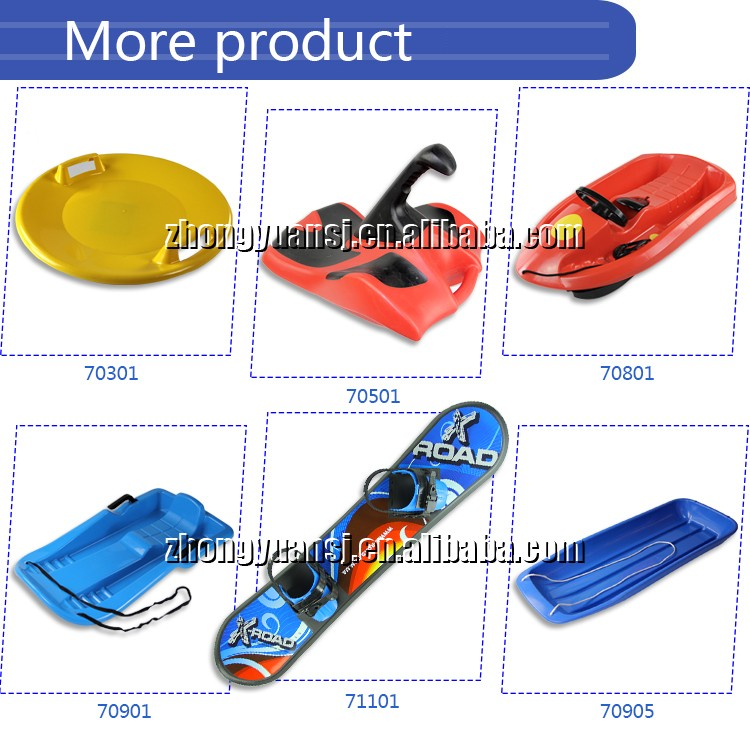 China alibaba Winter Outdoor kids Plastic snowboard for sale