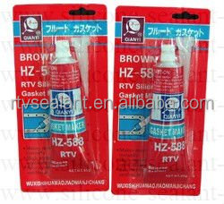 Red Rtv Silicone Sealant