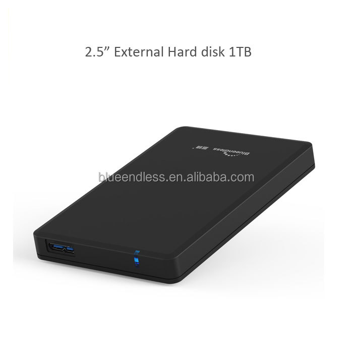 Blueendless usb3.0 hdd for files storage mobile usb3.0 2.5 sata 1tb internal hard disk
