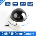Waterproof POE 1080P Dome Camera 360 Degree With Fisheye 1.7MM Lens