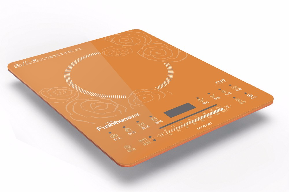 Slim Portable Induction Cooktop, Smart Touch Induction Hob, Electric Induction Cooker, Countertop Burner