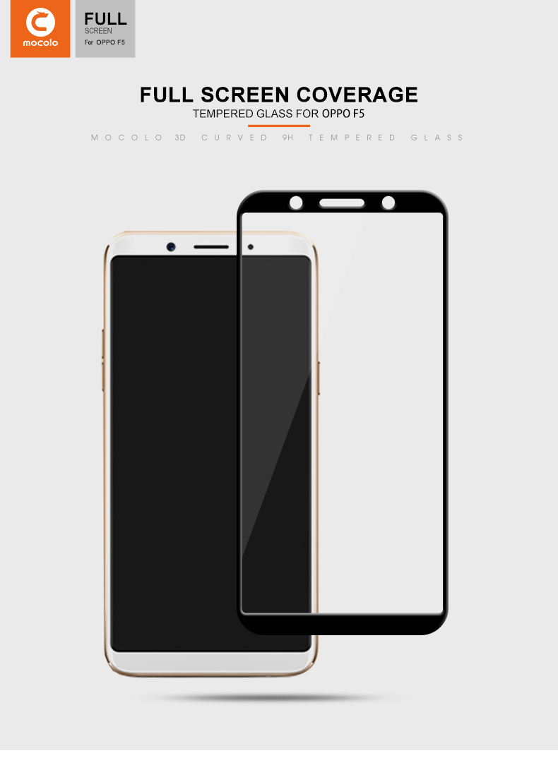mocolo Tempered glass for oppo F5 (8)