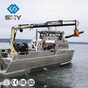 Hydraulic Knuckle Telescopic Boom Marine Cranes