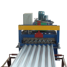 Building material iron corrugated metal roofing steel sheet roll forming machine