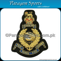 Handmade Bullion Wire & Silk thread Military Insignia