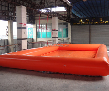 Orange inflatable swimming pool /inflatable pool for sale
