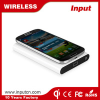 Input promotion wireless bank power charger for Sumsung Note 5