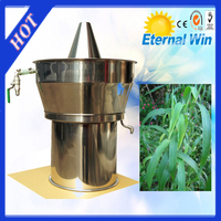 New condition homeuse flower/lemon grass essential oil extraction machine