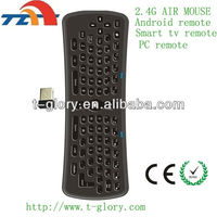 factory supply air mouse keyboard for smart tv IPTV PC BOX cheap price CE ROHS
