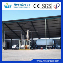 continuous pyrolysis oil distillation plant with high-efficiency