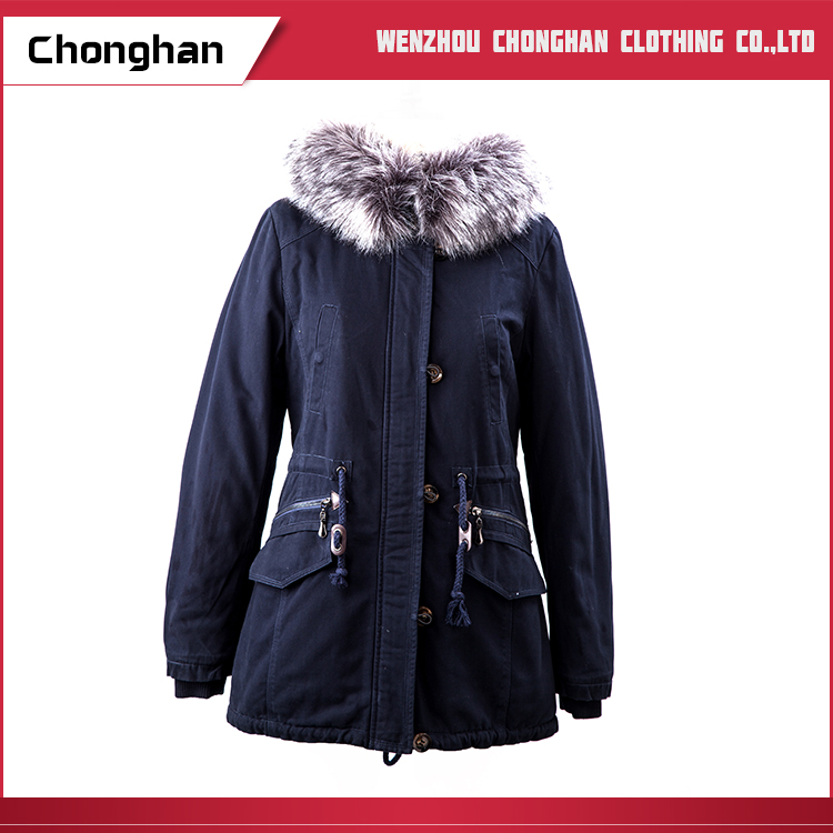 Chonghan Wholesale Price Custom Different Size Winter Women Cotton Coat