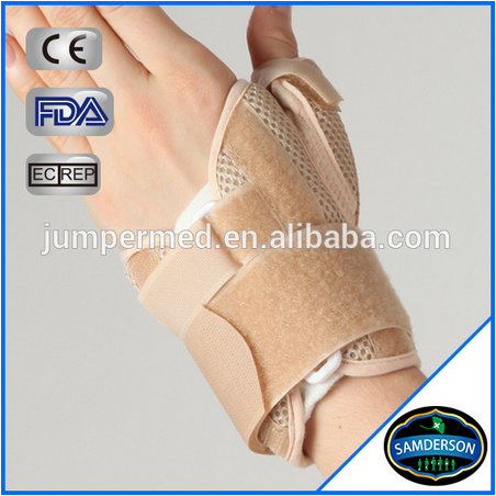 Breathable customized wrist thumb support brace / hand brace