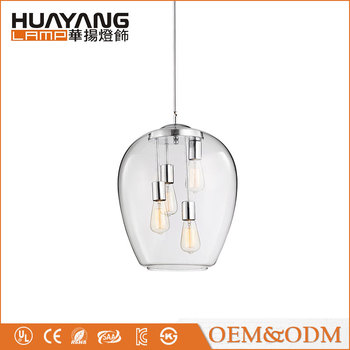 American style decorative dining light vintage modern chandelier lighting glass pendant lamp