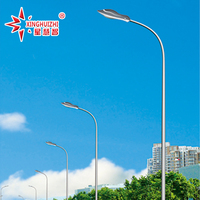 hot dip galvanized led street lighting pole with best price