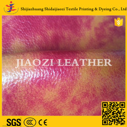 Easy Clean Sofa Fabric Leather Fabric